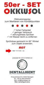 Okklusol Spray - ROT - 50er