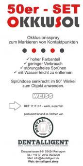 Okklusol Spray - WEISS - superfein - 50er