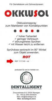 Okklusol Spray - ROT - einzeln