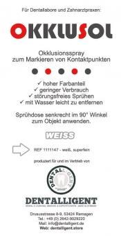 50er Set - Okklusol WEISS - Superfein
