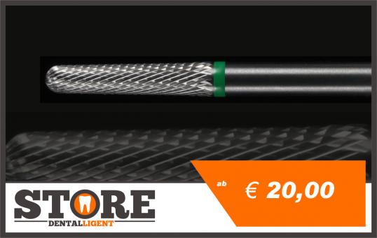#08 - 1° - cone milling cutter - medium green coarse - 3 mm shank head 0,29